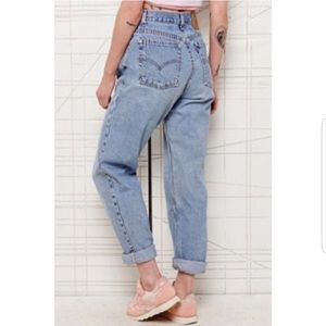 Levi's Vintage 550 Relax Fit Tapered Leg Mom Jeans